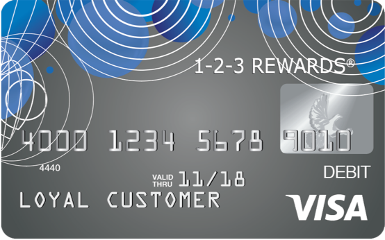 choose a personalized card - Prepaid Rewards Card